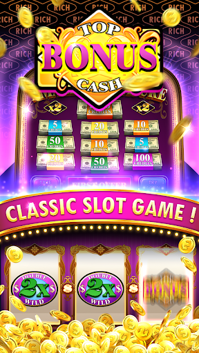Slots Classic - Richman Jackpot Big Win Casino apkmartins screenshots 1
