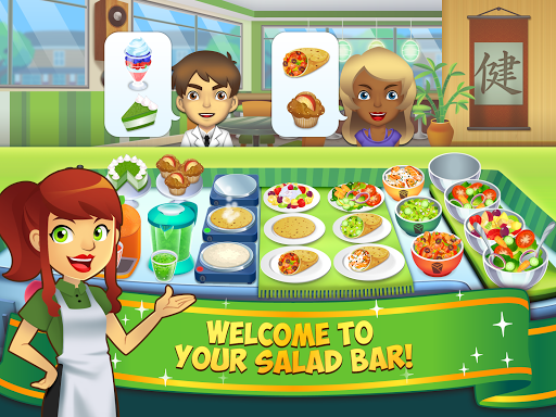My Salad Bar - Healthy Food Shop Manager apkslow screenshots 6