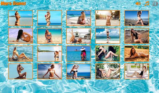 Bikini puzzles screenshots 2