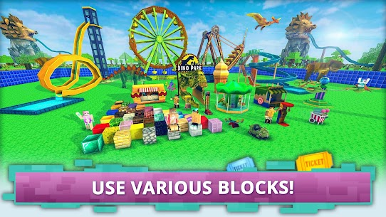 Dino Theme Park Craft: For Pc – Windows And Mac – [free Download In 2021] 2