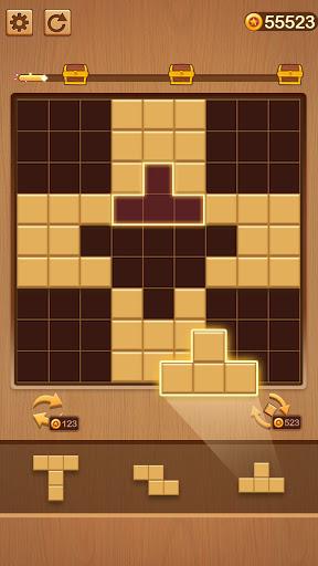 Wood Block Puzzle: Classic wood block puzzle games screenshots 5