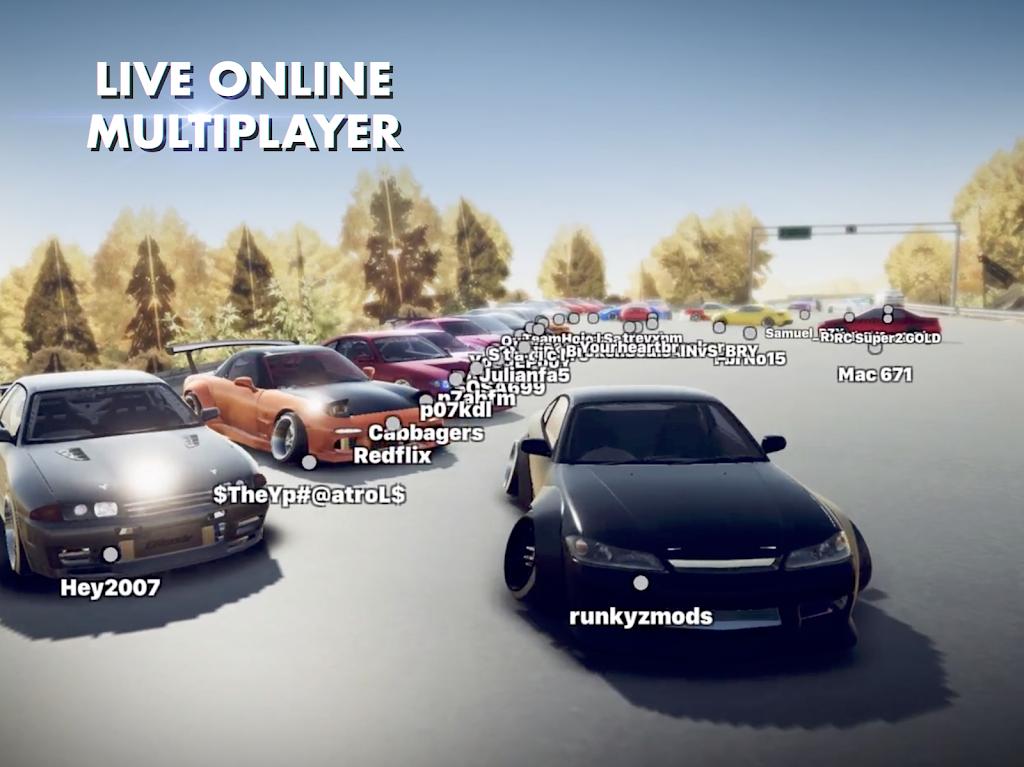 Hashiriya Drifter Online Drift Racing Multiplayer MOD poster 18