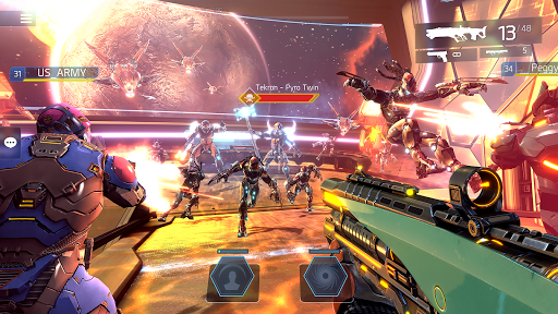 SHADOWGUN LEGENDS - FPS and PvP Multiplayer games apkpoly screenshots 16
