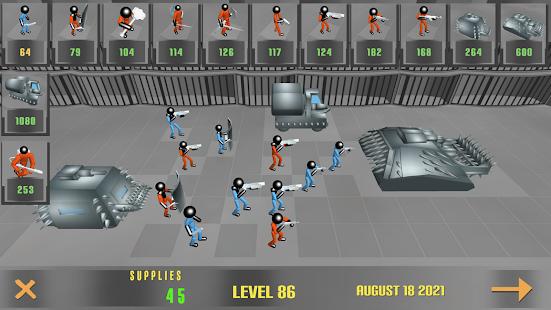 Stickman Prison Battle Simulator: Zombies 1.10 screenshots 1