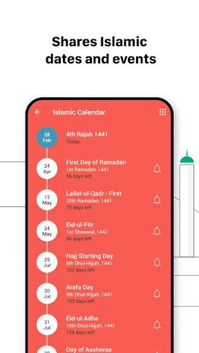 Athan: Prayer Times, Azan, Al Quran & Qibla Finder  Screenshots 6