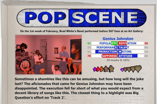 Popscene (Music Industry Sim) 1.242 screenshots 4