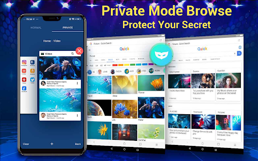 Web Browser & Fast Explorer android2mod screenshots 12