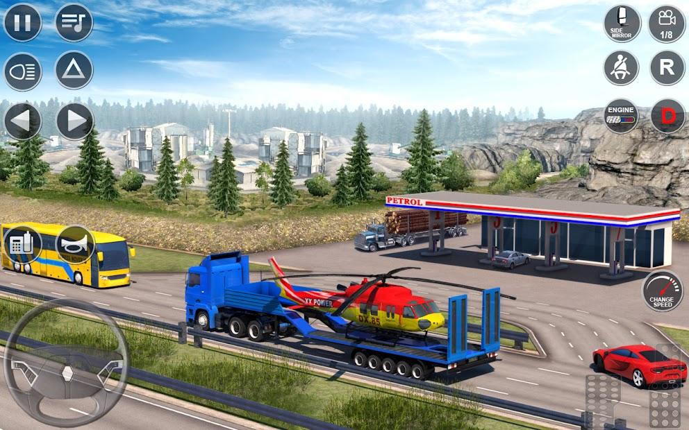 Euro Truck Driving Simulator 3D – Free Game