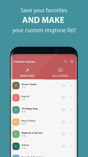 Free Music Ringtones modavailable screenshots 3