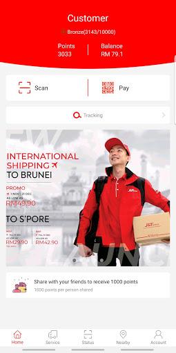 J&T Malaysia 1.7.2 Screenshots 1