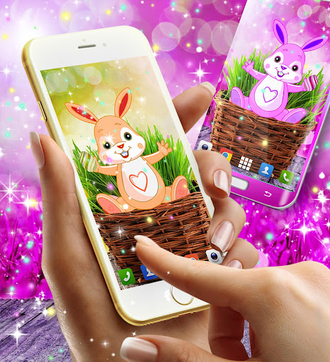 Cute bunny live wallpaper for android modavailable screenshots 4