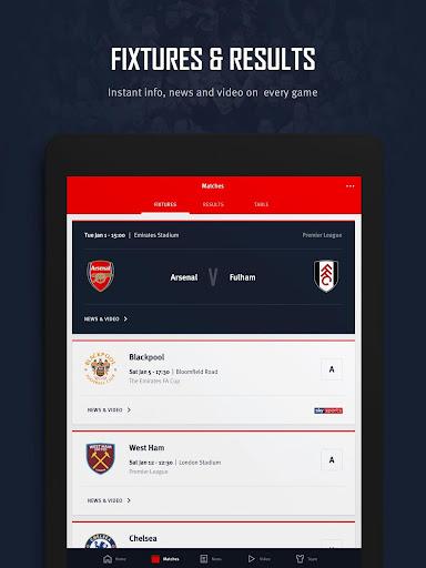 Arsenal Official App 6.0.3 Screenshots 12