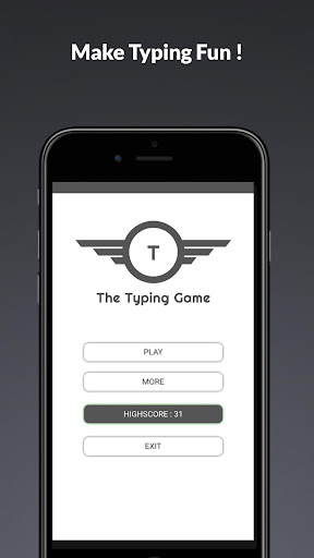The Typing Game 1.7.4 screenshots 1