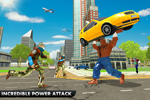 Black Monster Hero Crime City Battle  apktcs 1