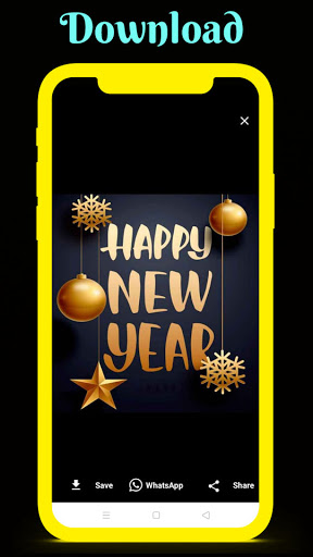 Happy New Year Wishes With Images 2021 1.0.3 Screenshots 4