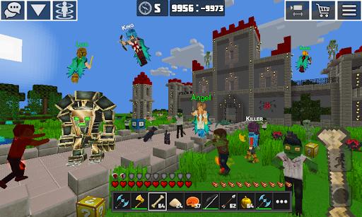PlanetCraft: Block Craft Games apkpoly screenshots 2