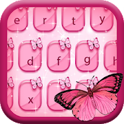 Cute Butterfly - Keyboard Theme