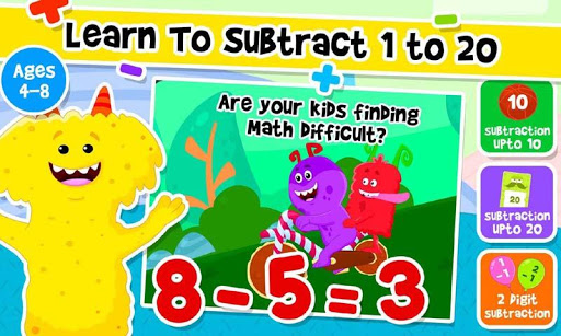 Addition and Subtraction for Kids - Math Games 2.2 screenshots 3