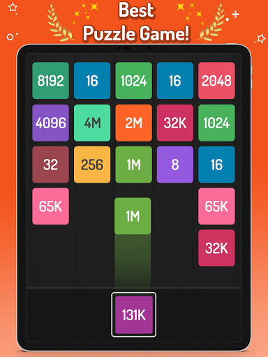 X2 Blocks u2013 Merge Numbers 2048  screenshots 12