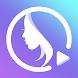 PrettyUp - 動画編集 & 自撮り 加工 & 美脚カメラ & ビデオを編集