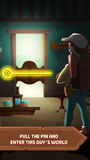 Pull Him Up: Brain Hack Out Puzzle game  screenshots 1