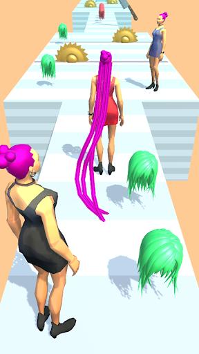Hair Run - Makeover Challenge Rush  screenshots 1