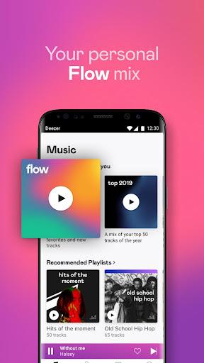 Deezer Music Player: Songs, Radio & Podcasts 6.1.14.99 Screenshots 2