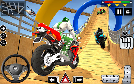 Impossible Stunts Bike Racing Games 2018: Sky Road  screenshots 2