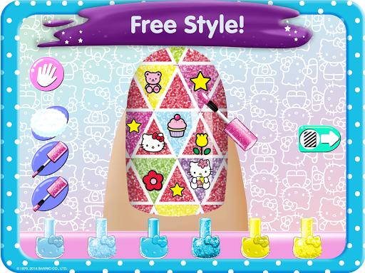 Hello Kitty Nail Salon goodtube screenshots 7