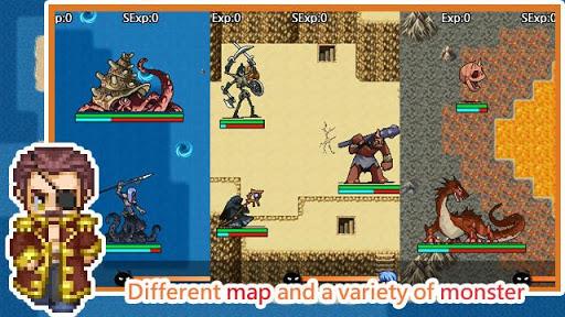 Unlimited Skills Hero - Single Role Play RPG screenshots 6
