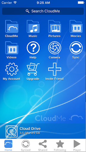 CloudMe modavailable screenshots 1