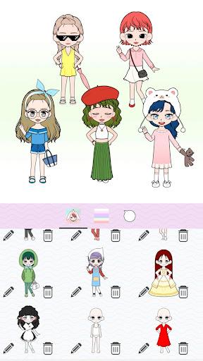 My Webtoon Character Girls - K-pop IDOL Maker 1.5.0 screenshots 5