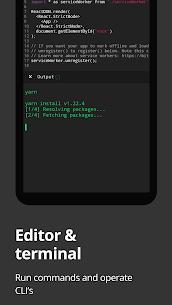 Dcoder, Compiler IDE MOD APK 3.3.27 (Pro Unlocked) 1