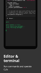 Dcoder, Compiler IDE :Code & Programming on mobile Screenshot