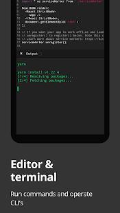 Dcoder, Compiler IDE :Code & Programming on mobile 3.3.27 Screenshots 1