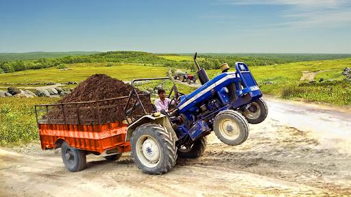 Real Cargo Tractor Trolley Farming Simulation Game  screenshots 3