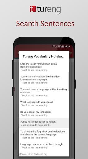 Tureng Vocabulary Notebook modavailable screenshots 5