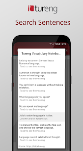 Tureng Vocabulary Notebook Find Word Android Full Apk Download 5