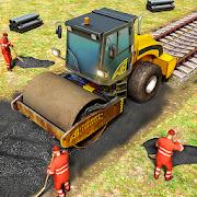 Train Station Construction Railway · JCB Simulator