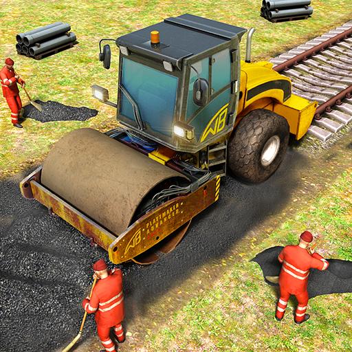 Train Station Construction Railway APK