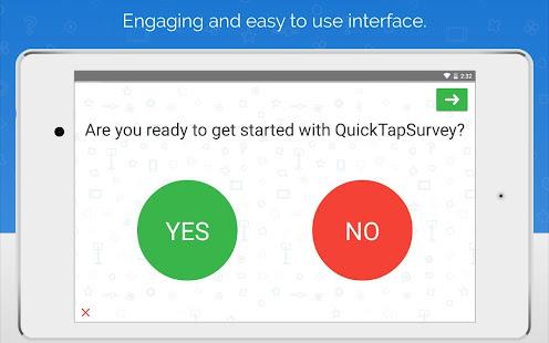 QuickTapSurvey Offline Survey