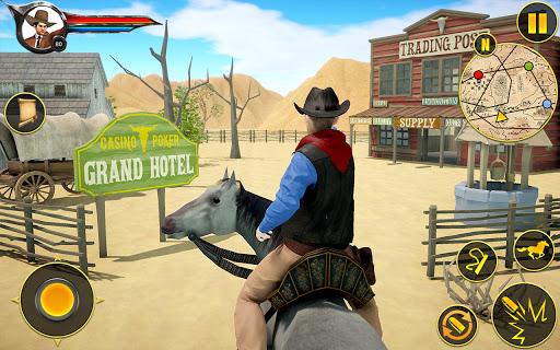 Cowboy Horse Riding Simulation apktram screenshots 17
