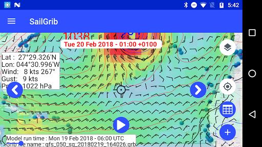 Marine Weather | SailGrib Free 2.0.1 Screenshots 8