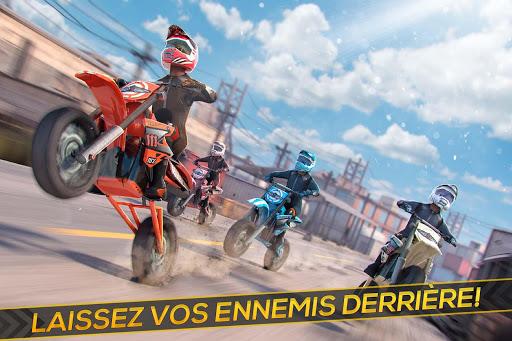 Moto Cross Extrême Freestyle -  Réal Motor Courses APK MOD – Monnaie Illimitées (Astuce) screenshots hack proof 1