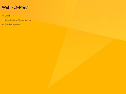 Wahl-O-Mat  screenshots 8