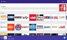 screenshot of Radioline: live radio and podcast (fm-web-replay)