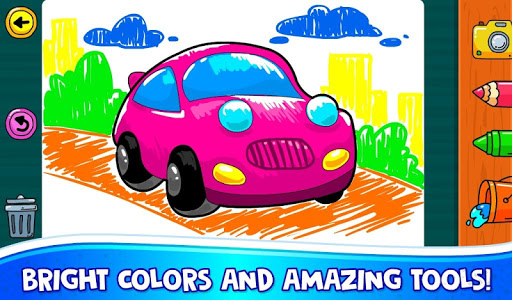 ud83dude97 Learn Coloring & Drawing Car Games for Kids  ud83cudfa8 7.0 screenshots 2