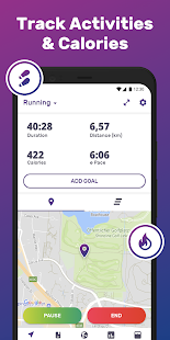 Running & Walking GPS FITAPP Screenshot
