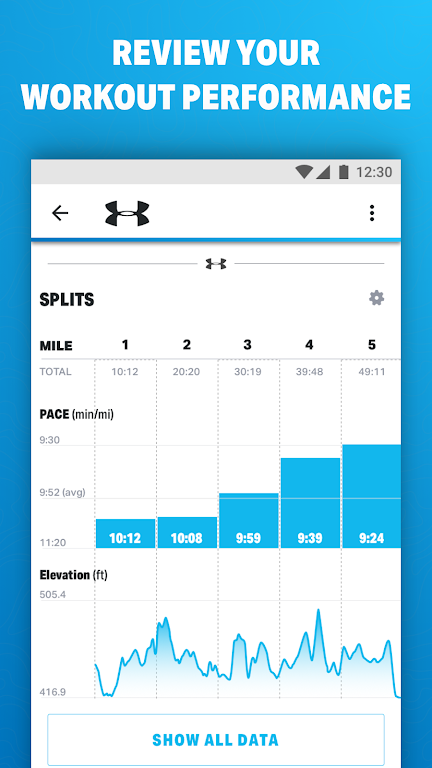 Map My Run by Under Armour poster 1