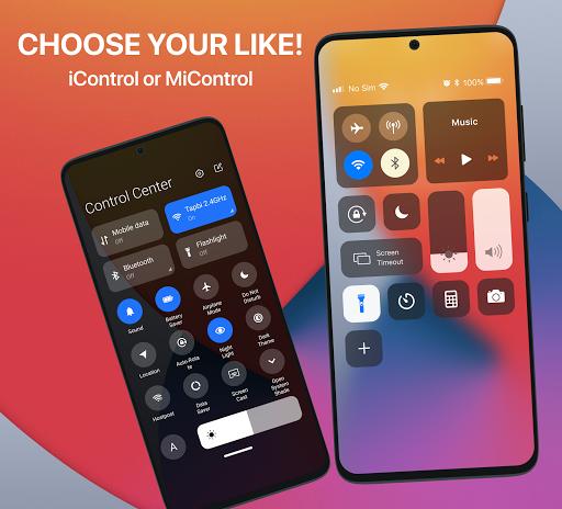 iCenter iOS14 - Control Center & iNoty iOS14  Screenshots 12